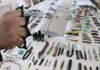Diyarbakır Adliyesinde yakalanan ilginç aletler!