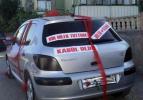 Gelin arabalarındaki 'Türk mizahı'