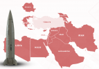İşte Türkiye'nin çevresindeki ülkelerin füze ve roket güçleri