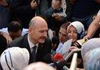 Bakan Soylu'dan oturma eylemi yapan Diyarbakır annelerine ziyaret