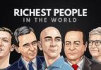 Dünyanın yarısından daha zengin isimler