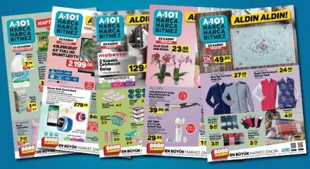 A101 17 - 23 Kasım aktüel ürünleri ve indirimleri! Televizyonda fırsat...