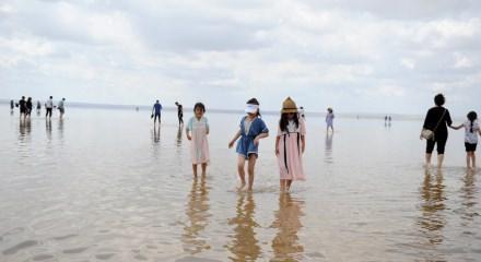 Gelin ve damatların yeni gözdesi: Tuz gölü