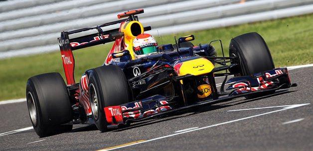 Vettel üst üste 5. yarışını da kazandı!