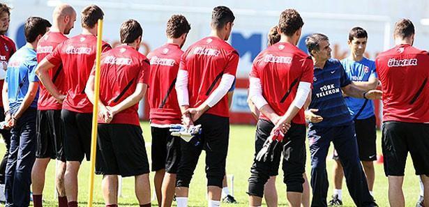 Trabzonspor, ilk kez tam kadro hazır
