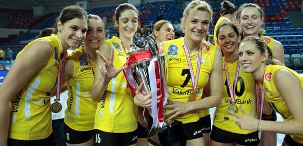 Vakıfbank rekor kırarak şampiyon oldu!