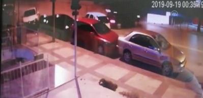 12 aracın karıştığı kaza anı kamerada!