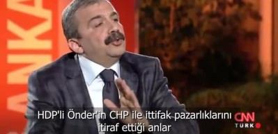 HDP'li Önder'den skandal CHP itirafı!