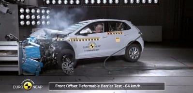 2017 Volkswagen Polo çarpışma testi!