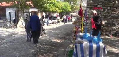 3 bin yıllık antik kentin pazarı yeniden kuruldu
