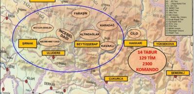 3 ilde 129 tim harekete geçti: PKK'ya 'Kıran Operasyonu'