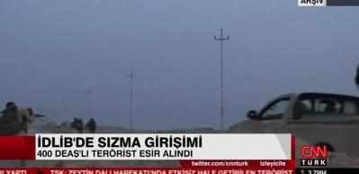 400 terörist esir alındı