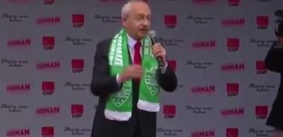 Kılıçdaroğlu'nun dili dolandı! Bir türlü söyleyemedi