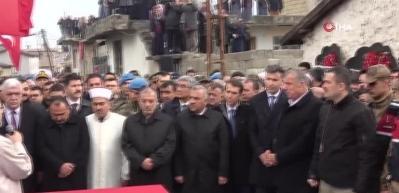 İdlib şehidi, Hatay'da toprağa verildi