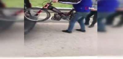 Otobanda ölüm yarışı