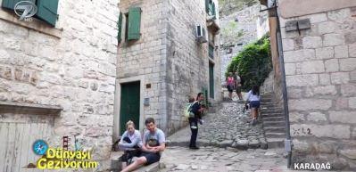 6. yüzyıl ötesine kadar uzanan tarihi ile Karadağ Kotor Kalesi ve surları