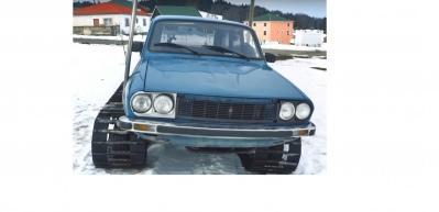 77 model Torosu paletli kar aracına dönüştürdüler