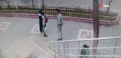 Genç kıza şantaj yapan adam buluşma yerinde böyle yakalandı!
