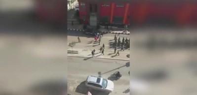 ÖSO askerleri Afrin sokaklarını böyle inletti