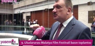 9. Uluslararası Malatya Film Festivali'nin basın toplantısı gerçekleşti