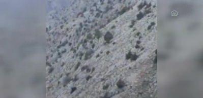 Mantar toplarken kayalıktan düştü!