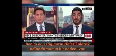 FETÖ'cü terörist Enes Kanter'den Erdoğan ve Türkiye hakkında alçak sözler