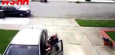 14 yaşındaki hırsız yaşlı adamı dövüp arabasını gasp etti!