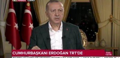 Erdoğan: 15 Temmuz'un katılımcıları AK Parti ve MHP'dir!