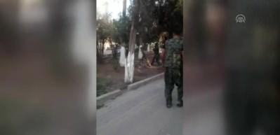 YPG/PKK teröristler Nusaybin'e böyle saldırdı
