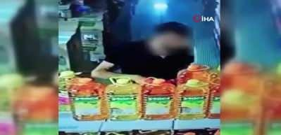 Marketin kasasındaki paraları çalan şahıs yakalandı