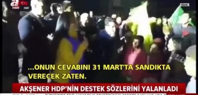HDP ittifak var diyor, Akşener yalanlıyor