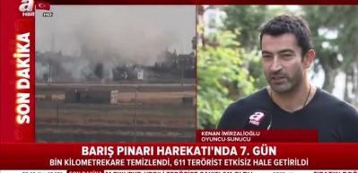 Kenan İmirzalıoğlu'ndan 'Barış Pınarı' mesajı!