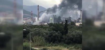 İskenderun Demir Çelik Fabrikasında patlama!