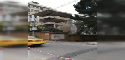 Kadıköy'de faciadan dönülen anlar kamerada