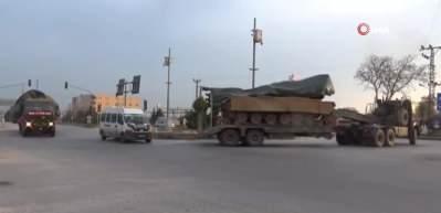 Hatay sınırına askeri araç sevkiyatı! Komandolar