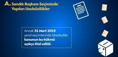 AK Parti yayınladı:  'İstanbul seçimleri neden yenileniyor?'