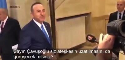 Sosyal medya Çavuşoğlu'nun tepkisini konuşuyor