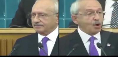 Aynı gün, aynı saat, iki farklı Kılıçdaroğlu!