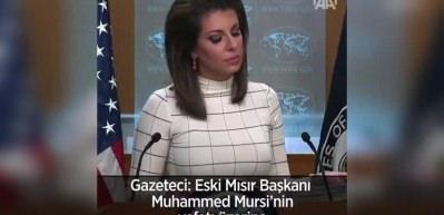 ABD'den Muhammed Mursi'nin vefatı sonrası ilk açıklama