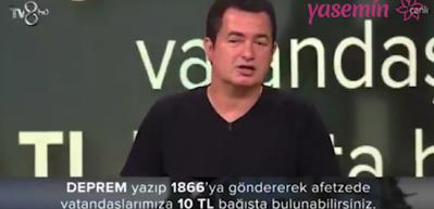Acun Ilıcalı'nın Elazığ depremi için başlattığı kampanya sırasındaki muhteşem konuşma!