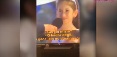 Acun Ilıcalı'nın kızı Melisa yabancı şarkı söyledi