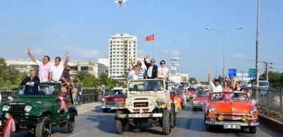 Adana film festivalinde Sevgi Korteji