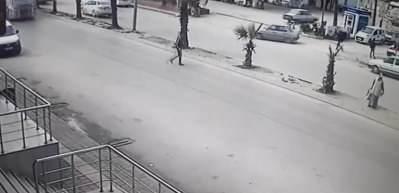 Adana'da bir garip kaza! Kimse ne olduğunu anlamadı