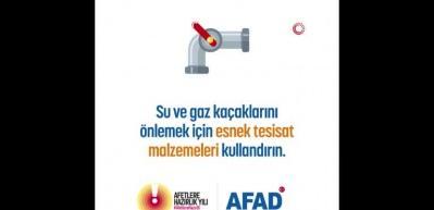 AFAD deprem sırasında ve sonrasında yapılması gerekenler için bilgilendirme videosu yayınladı