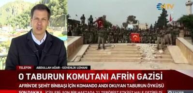 Afrin kahramanı binbaşının göz yaşartan hikayesi!