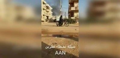 Afrin'de bir patlama daha!