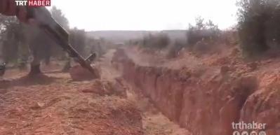 Afrin'de ortaya çıktı! İnanılmaz görüntüler...