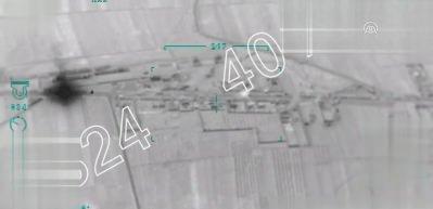 Afrin'deki terör konvoyu böyle imha edildi