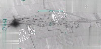 Afrin'e giden 40 araçlık terör konvoyu vuruldu