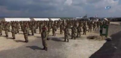 Afrinli Kürt Kartalları YPG'ye karşı göreve hazır